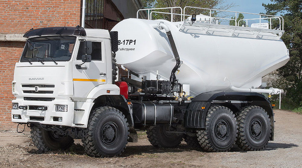 four wheel drive cement truck acv-17r1