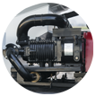 advantages of acv-17r1 pendular compressor (oil-free)